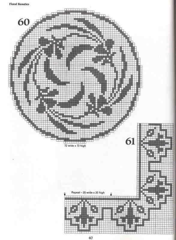 101+Filet+Crochet+Charts+40.jpg (587×800)