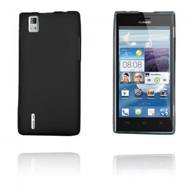 GelCase (Musta) Huawei Ascend P2 Suojakuori - http://lux-case.fi/gelcase-musta-huawei-ascend-p2-suojakuori.html