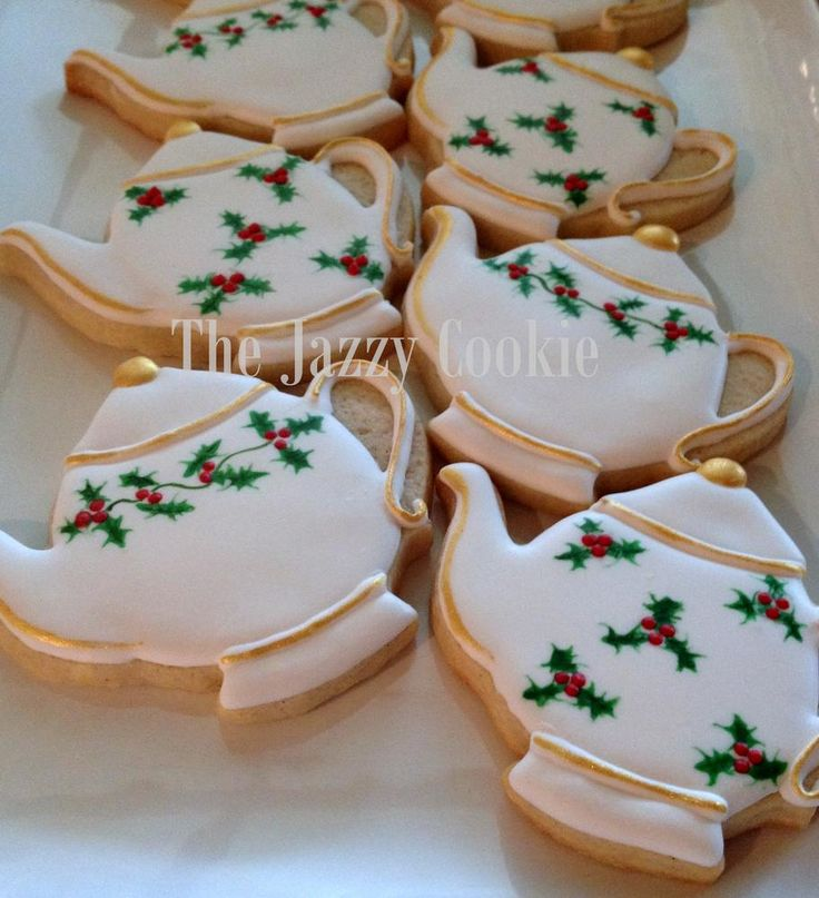 Christmas teapots | Cookie Connection