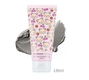[A'PIEU] Rilakkuma Collaboration Mud Fresh Cleansing Foam 130ml