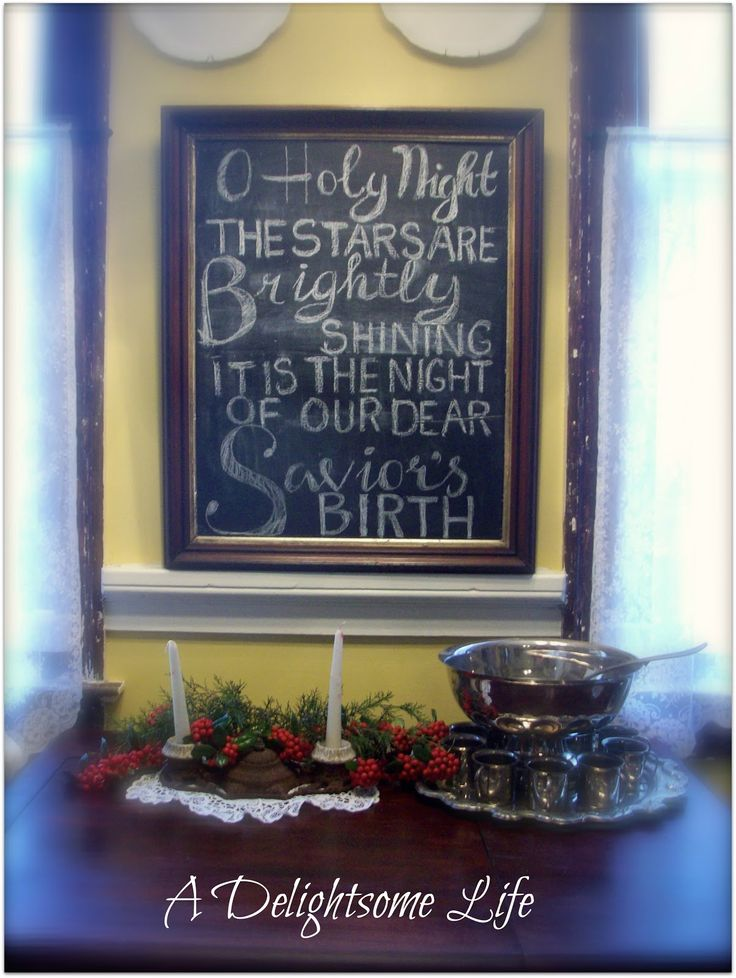A Delightsome Life: #Chalkboard, #quote
