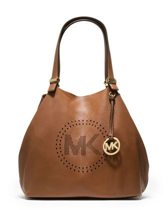 0ae73afaa19 MICHAEL Michael Kors Large Perforated-Logo Grab Bag. This is going to be my