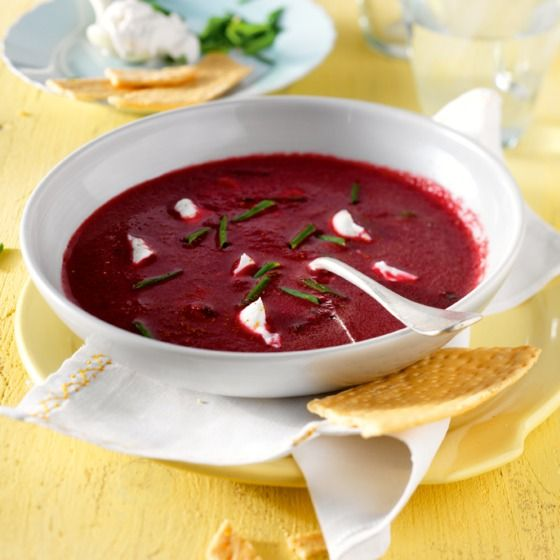 In rode biet zit veel ijzer, vezel en eiwit. #soep #recept #JumboSupermarkten