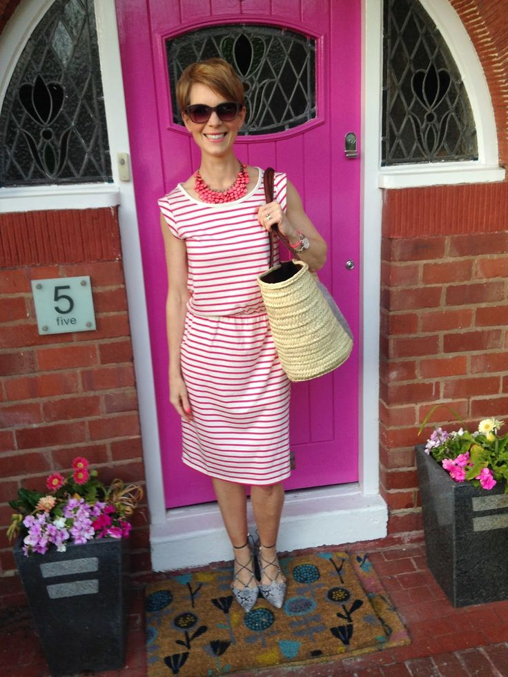 Style Guile: Seeing spots and stripes in Boden summer dresses...