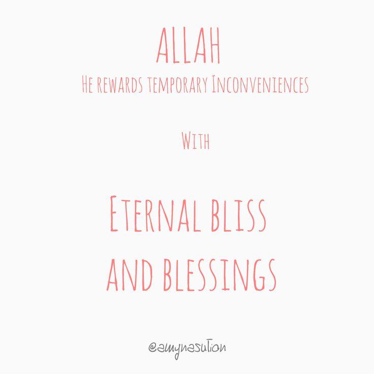 Allah. Blessing