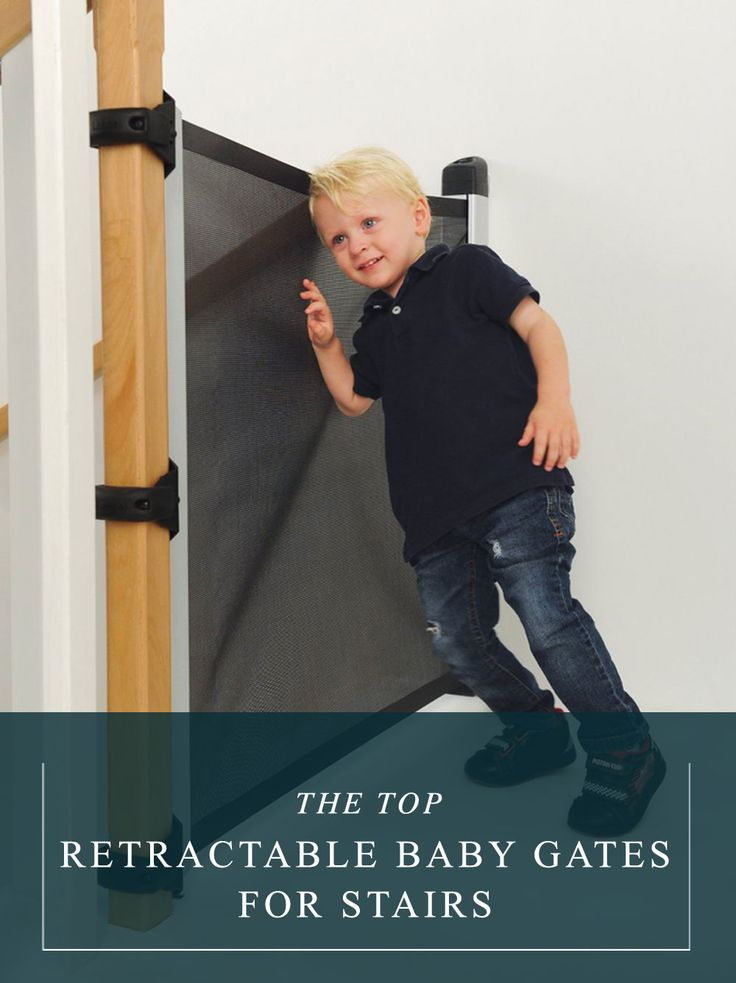 View comparisons of the top retractable baby gates for stairs to find the right fit for your home!