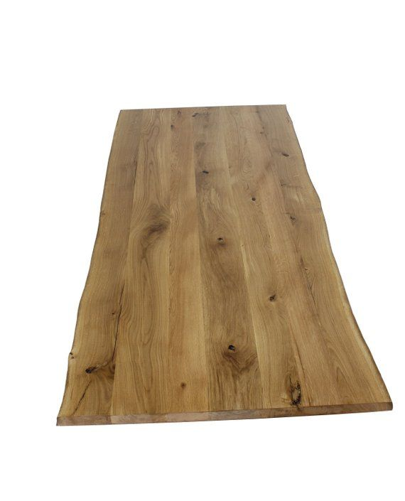 Table Top Oak Massively Oiled 160x90 With Tree Edge Wild Oak Rustic Custom Dining Table Coffee Table Eiche Massiv Eiche Eiche Holz