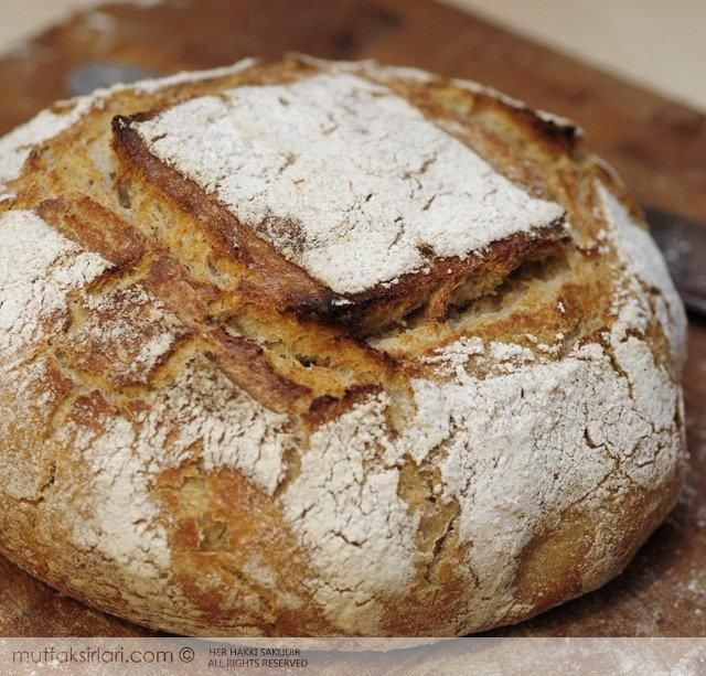Ekşi Mayalı Ekmek Yapımı Tarifi | Mutfak Sırları