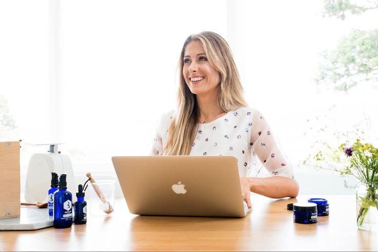 Sara Quilter CEO Tailor Skincare