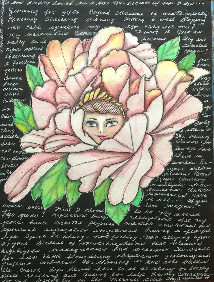 Peony Princess by Jeanette MacDonald Art