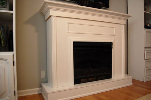 I love the layout of our new home?s living room, but my husband, Evan, and I felt there was something noticeably missing from it: a fireplace. T
