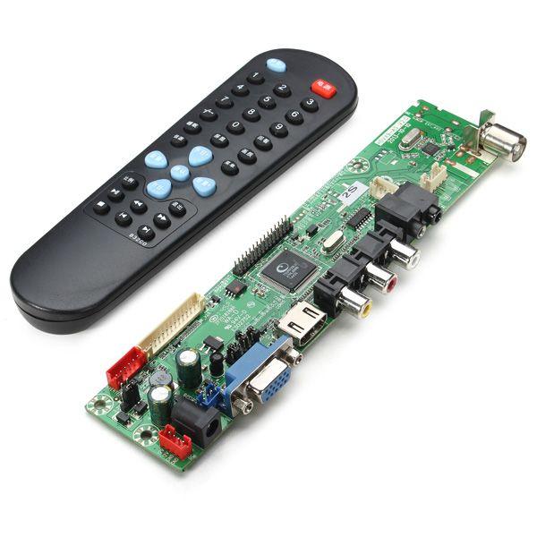 V29 Universal LCD Controller Board TV Motherboard Free Program Version