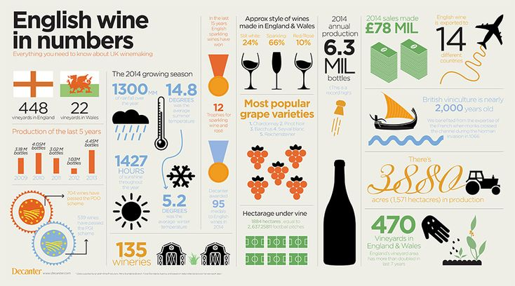 For English Wine Week, we've got all the need to know facts and numbers on the English wine industry in our infographic below…