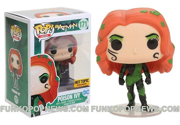 Hot Topic Exclusive New52 Poison Ivy is coming Soon!