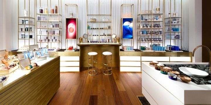 Premier by Dead Sea concept store by Oron Milshtein, Eilat   Israel cosmetics