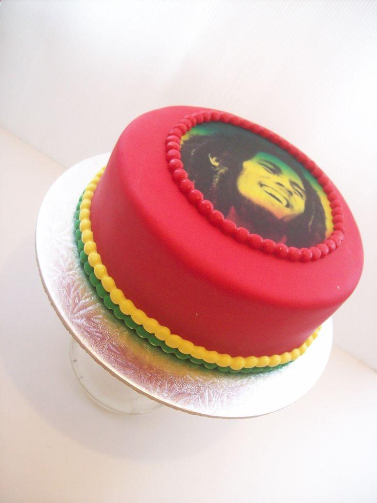 Bob Marley Cake Auckland
