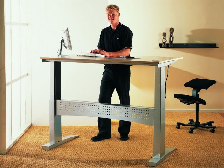 furniture hamster wheel standing desk youtube of office 5