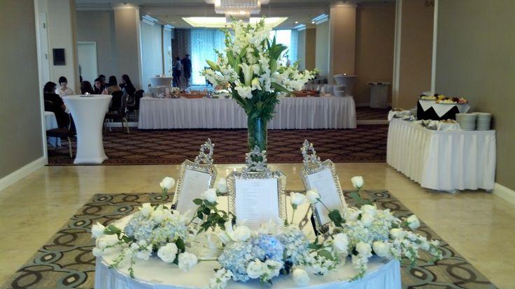 Ballroom Wedding Assigned Seating Idea @ Hilton Greenville, SC
