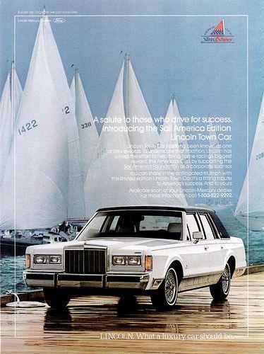 1986 Lincoln Town Car (USA) | Flickr - Photo Sharing!
