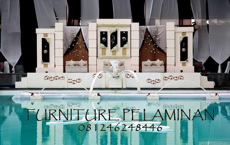 Harga Dekorasi Furniture Pelaminan Modern Minimalis