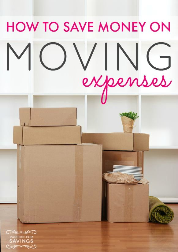How To Save Money On Moving Expenses Budget Planning