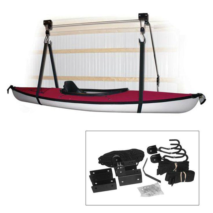Attwood Kayak Hoist System   Black