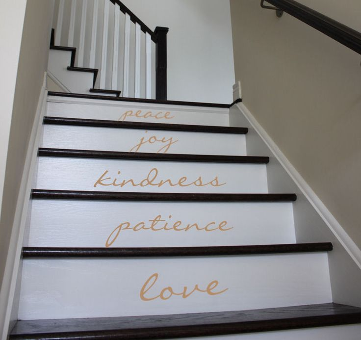 21 Attractive Painted Stairs Ideas Pictures: 21 Best Stairs And Rails Images On Pinterest
