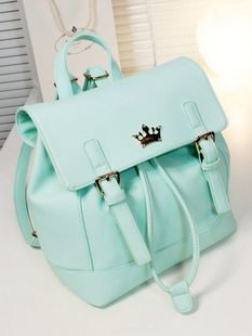 Special Korean version of the British Institute of retro candy jelly color tide student backpack schoolbag