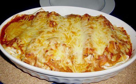 Backen - Kochen & Genießen: Enchiladas mit Hähnchen und Mais