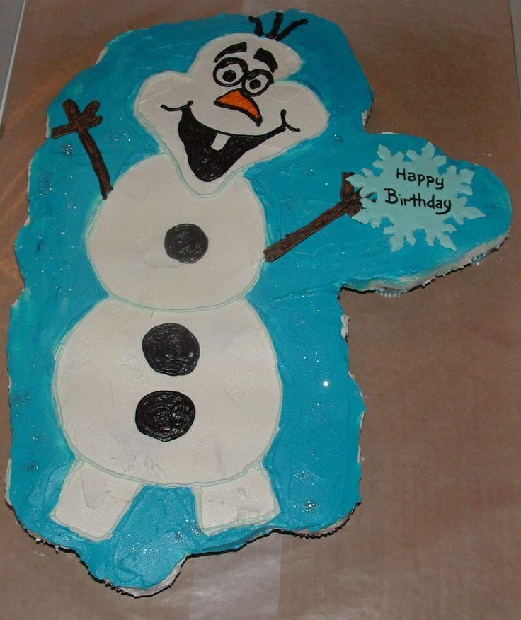 Snowman pull-apart-cupcakes   Cheryl Robin Cakes ...