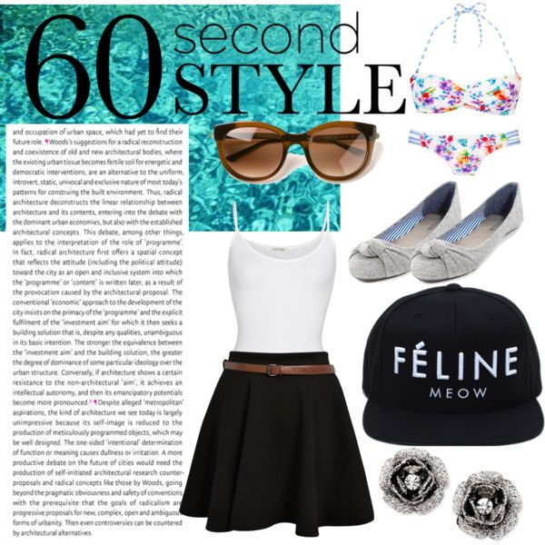 """60 Seconds"" by vy-nguyen1218 on Polyvore"