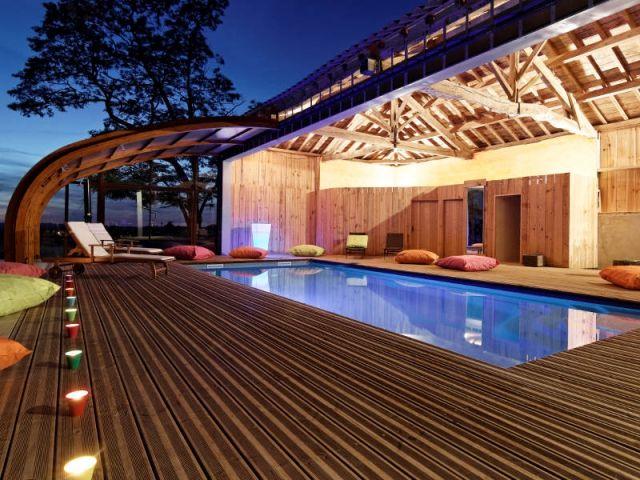 Les 25 meilleures id es de la cat gorie abri piscine sur - Hangar gratuit avec toiture photovoltaique ...