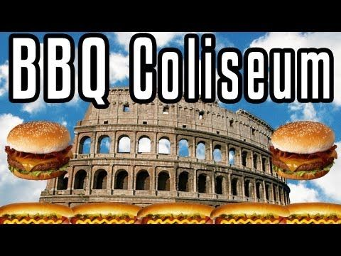 BBQ Coliseum! - Epic Meal Time