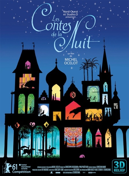 Love Prince et princesses and the silhouette style, can't wait to see this new set of fairy tales from Michel Ocelot.