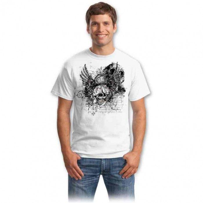 Tricouri cu cranii – Tricou Cranii rock