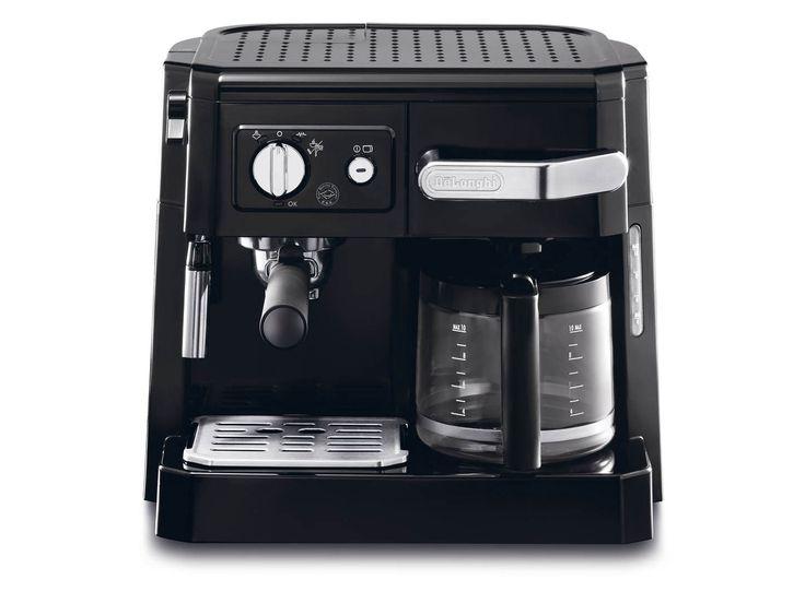 DELONGHI BCO410.1 ΚΑΦΕΤΙΕΡΕΣ ΡΟΦΗΜΑΤΩΝ - saveit.gr - Η πολυκαφετιέρα συνδυάζει δύο συσκευές καφέ σε μια, μια μηχανή espresso εφοδιασμένη με cappuccino system και μια φίλτρου. Διαθέτει πλήρη εμπρόσθια φόρτωση, φίλτρα για καφέ espresso και φίλτρου, θέση τοποθέτησης φλιτζανιών, aroma control και ρυθμιζόμενη εκπομπή ατμού.
