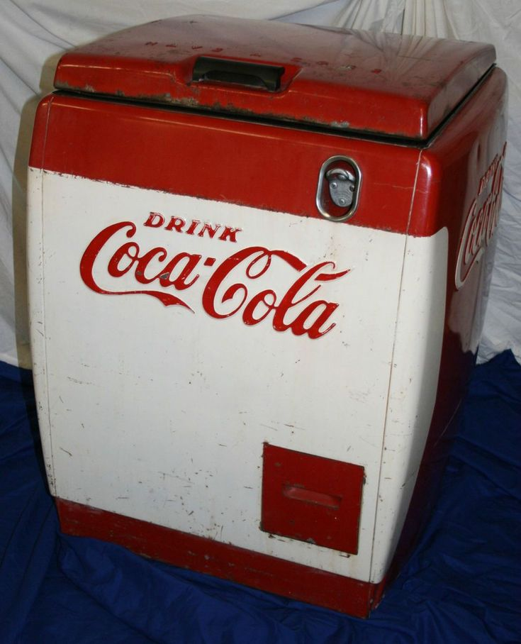 chest style coke machine
