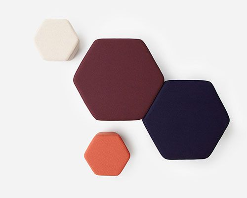 Hex Ottoman _ Simon James Design