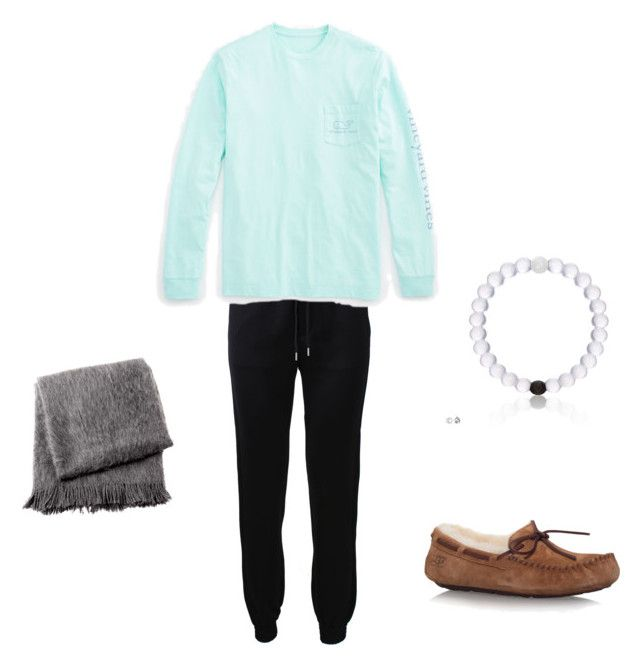 """""""PJ Day at school today"""" by mae343 on Polyvore featuring Barbara Bui, Vineyard Vines, UGG Australia and From the Road"""