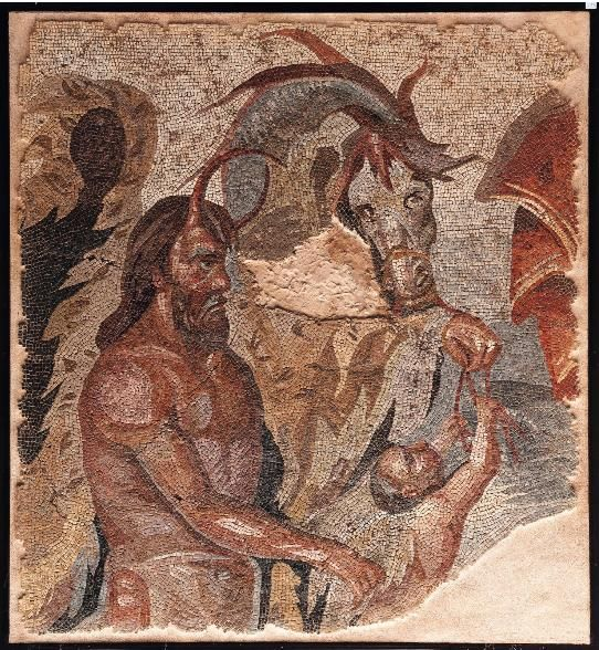 eros in roman mosaics