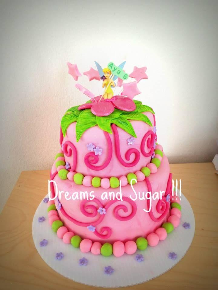 timkerbell cake .