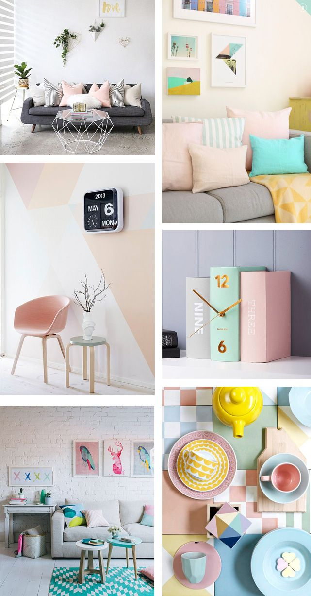 Pastels are making a huge comeback! We show you our favourite pastel picks from House and give you some pastel style inspiration!
