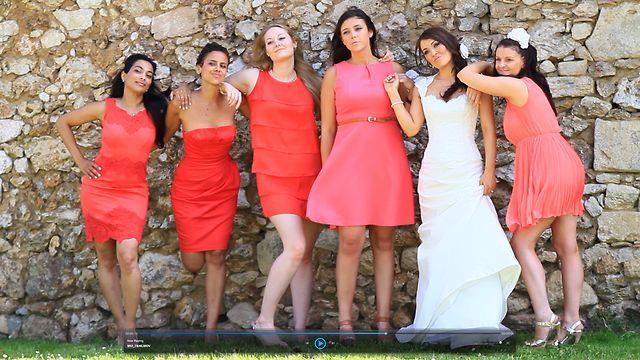 Fun French Chateau Wedding Film by Deneemotion