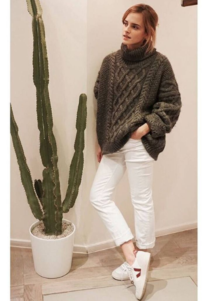 """Cable Knit Sweater 