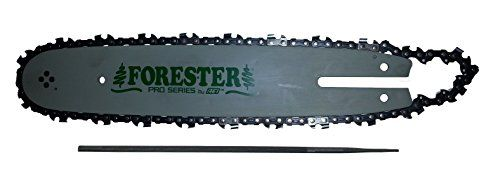This is our Forester Brand Laminated Bar and chain combo for Stihl Smaller chainsaws. A Laminated bar is considered a home owner type bar. The nose is a sprocket nose. Considered the small Stihl mount...