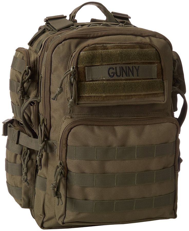 TRU-SPEC Tour Of Duty Gunny Backpack * Startling review available here  : Backpacking bags