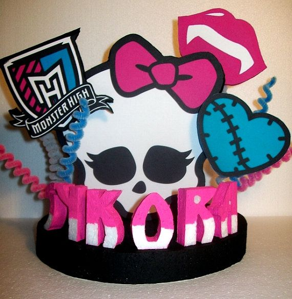 MONSTER HIGH Custom 3D Cake Topper PERSONALIZED by TishToppers, $32.00