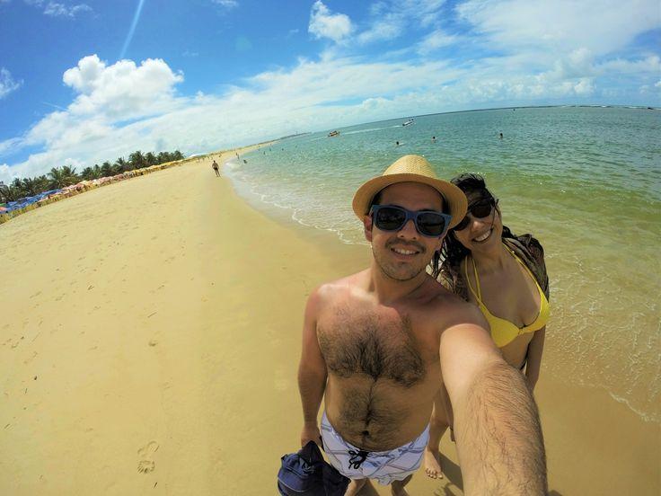 Praia do Gunga, Alagoas, Brasil. 05-2016. #PraiadoGunga #Alagoas #Brazil
