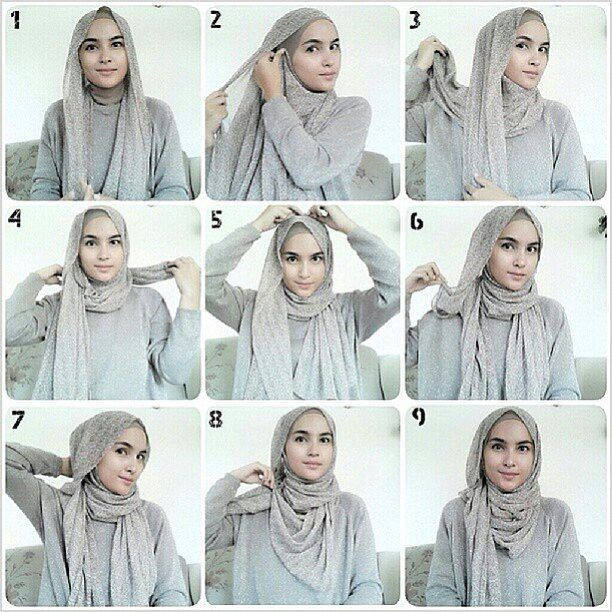 "800 Likes, 14 Comments - HIJABFASHION (@everydayhijabtutorials) on Instagram: ""Hijab tutorial by @zahratuljannah. Thankyou teh zahra, Keep inspiring ya :) . . Hijab style ini…"""