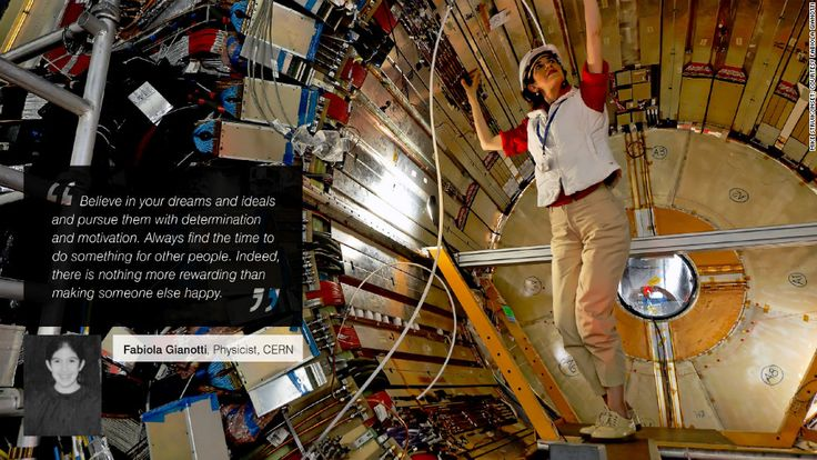 International day of the girl: 'To my 15-year-old self' - Fabiola Gianotti, Physicist, CERN